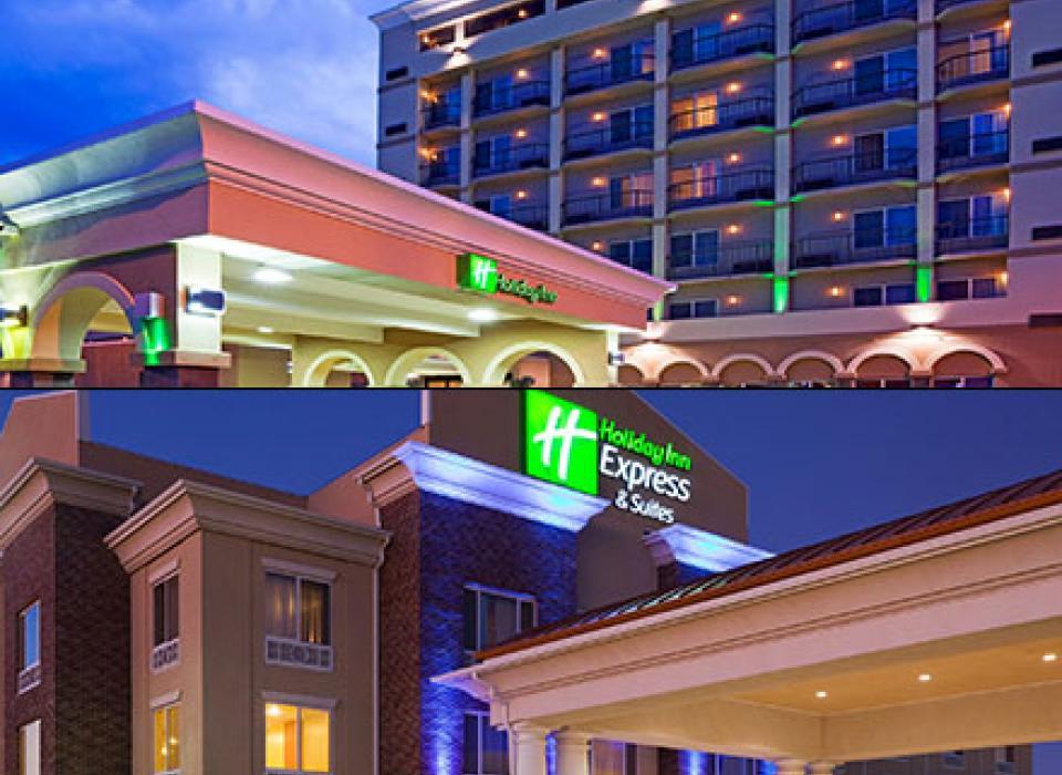 Holiday Inn Riverside and Holiday Inn Express - Minot, North Dakota