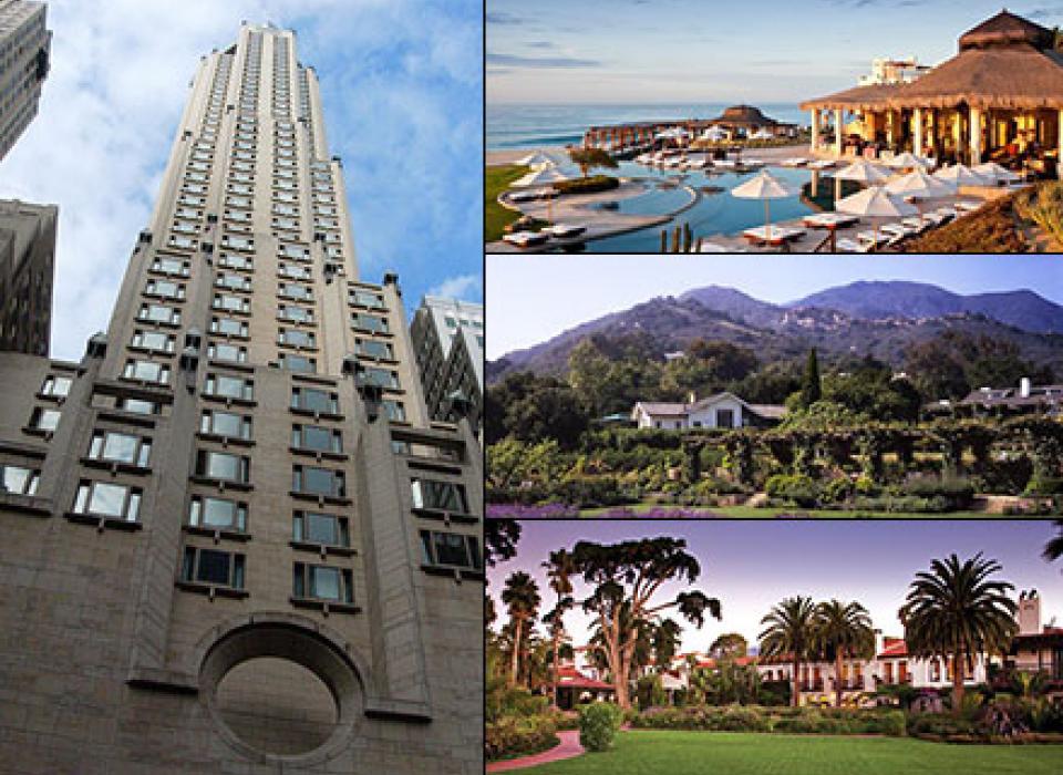 Ty Warner Luxury Hotel Portfolio - New York, Santa Barbara, San Ysidro, Los Cabos